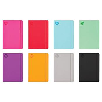 Notebooks, nu: journal spectrum, A5, Pack of 8