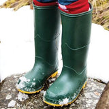 Classic Wellies, Green, Set of 5 Pairs