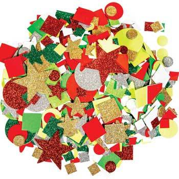 Festive Shape Assortment, Pack of 3,000