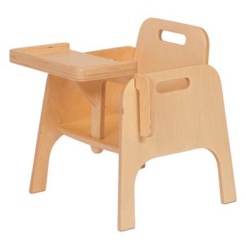 Wooden Tables & Chairs, Sturdy Feeding Chair
