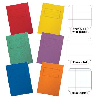 Exercise Books, Premium Range, A4+ (315 x 230mm), 80 Pages