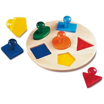Chunky Shape Matching Board, Age 18 Months+, Set