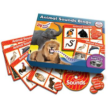 Sounds Bingo Games, Animal, Set