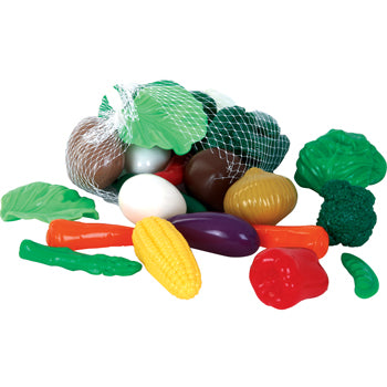 Play Food, Plastic, Plastic Vegetables, Age 3+, Pack of 28