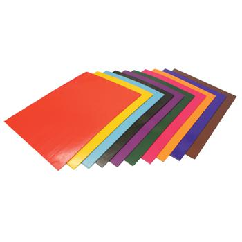 Assorted Gummed Paper, Sheets, Pack of 250