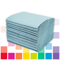 Hand Towels, Mini Blue Hand Towels, Case of 10,000 Sheets