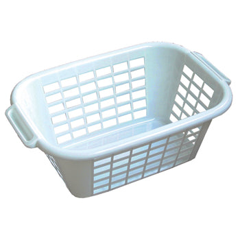 Laundry Accessories, Rectangular, Plastic Basket, Each