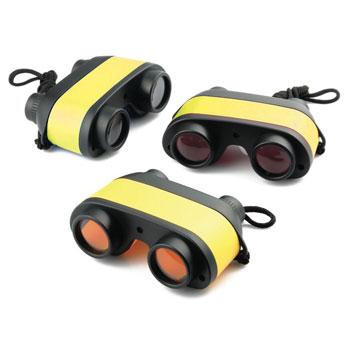 Binoculars, Junior Yellow, Age 3+, Pack of 12