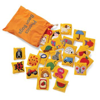 Phonics Bean Bags, Age 4+, Set