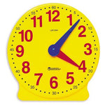 Classroom Clock Kits, Big Time Learning Demonstration Clock, Age 5-9, Each