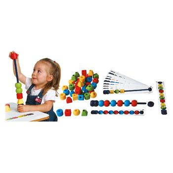 Maxi Bead Activity Kit, Age 2+, Set