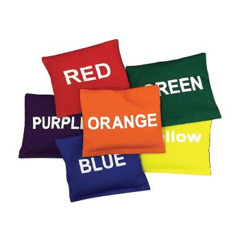 Bean Bags, Colour, Set of 6