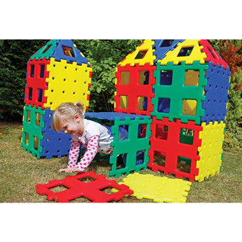 XLPolydron, Standard Colours, Age 2+, Set of 36 Pieces