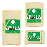 Bandages, White Open Weave Cotton, 75mm wide, Each