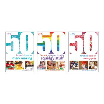 50 Fantastic Ideas Book Packs, Messy Play Set, Set of 3