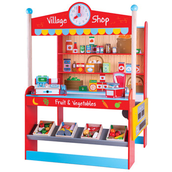 Village Shop and Accessories, Age 3+, Set
