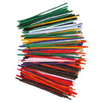Cotton Pipe Cleaners, Assorted Colours, Pack of 250