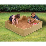 Duraplay Outdoor Range, Sand Pit With Lid, Set