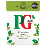Tea, PG Tips Green, Case of 6 x 25 Bags
