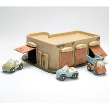 Bioplastic Range, Garage & Cars, Age 2+, Set