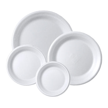 EPS, Laminated, Plates, 150mm diameter, Pack of 100