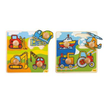 My First Peg Puzzles, Transport, Age 2+, Set of 2