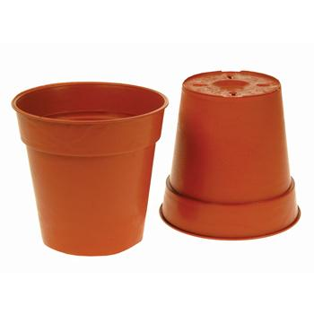 Plant Pots, 125mm Top Dia., Pack of 5