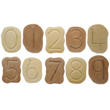 Feels-Write Number Stones, Age 3+, Set of 10