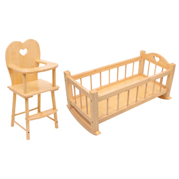 Role Play, Cradle and Highchair, Age 18Mths+, Each