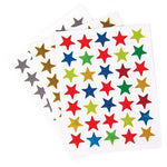 Peel And Stick Stars, Pack of 525