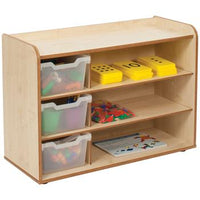 Solway Tray Range, Tray Unit, 3 Tray With Shelves