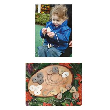 Threading Pebbles, Age 2+, Set