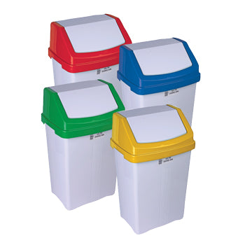 Swing Top Bin, Colour Coded Bins, Each