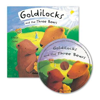 Fairytale Book & CD, Goldilocks & The Three Bears, Set