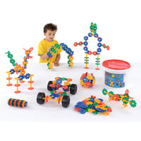 Octoplay Action Pack (296 Pieces) and Free Learner Pack (60 Pieces), Age 3+, Set of 356 Pieces