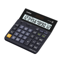 Dual-Powered Calculator, Casio D-12TER-S-EH, Each