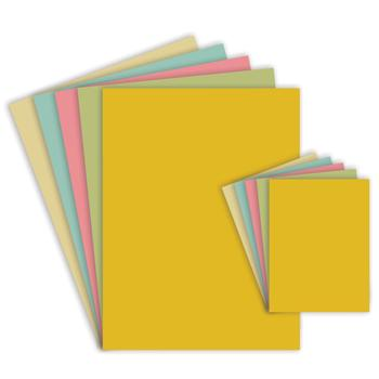 Assorted Pastel Card, A4, 230 Micron, Pack of 200 sheets