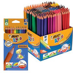 Standard Hexagonal Coloured Pencils, Bic(R) Kids Ecolution Evolution, Pack of 12