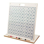 100 Number Squares, Desk Top Board, Each