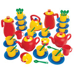 Role Play, Plastic Tea Sets, 12 Place Set, Age 2+, Set