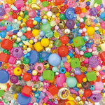 Beads, Bumper Mixed, Pack of 1000
