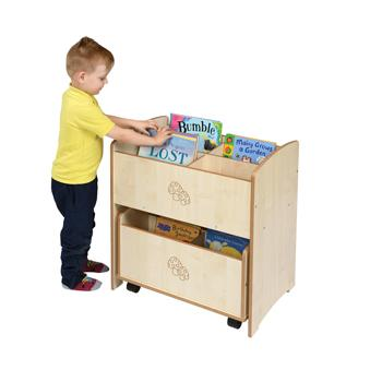 Twoey Toys, Maple Effect Furniture, Duo Kinderboxes