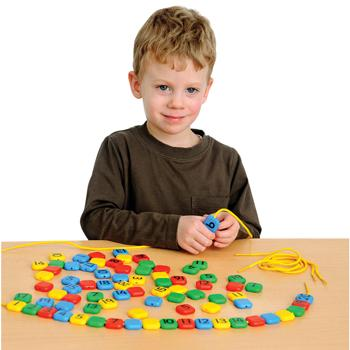 1-20 Number Beads, Age 3+, Set