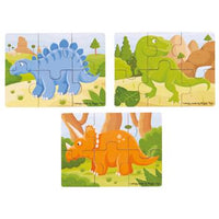 Dinosaur Puzzle Set, Set of 3