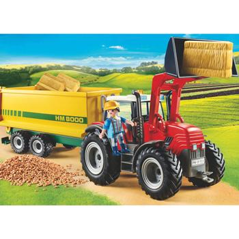 Playmobil Tractor & Trailer, Set