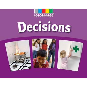 Colorcards, Decisions, Age 5+, Set of 30