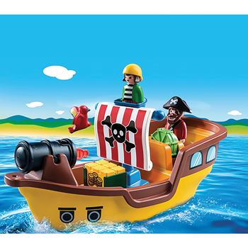 Playmobil(R) 1.2.3 Range, Pirate Ship, Set