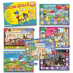 Social Skills Board Games - Early Years, Set of 6