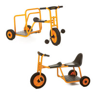 Play Vehicles Rabo, Bundle Deal, Taxi & Chariot, Age 3-8, Set of 2