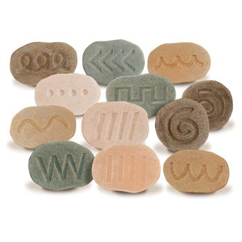 Feels-Write Pre-Writing Stones, Set of 12